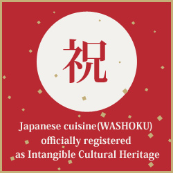 GURUNAVI supports activities of Washoku JAPAN project.